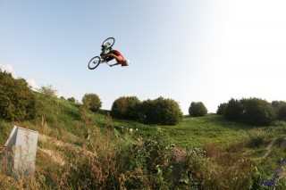 Pro rijder Jeremy Struik Flying High!