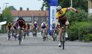 Winnaar Arnout Rijpkema ronde van Groot Ammes