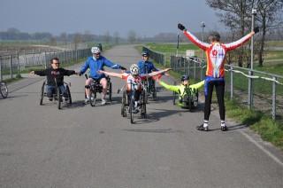 Utrechtse handbikers