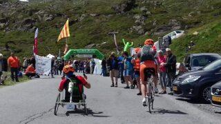handbike battle Oostenrijk Kaunertahl